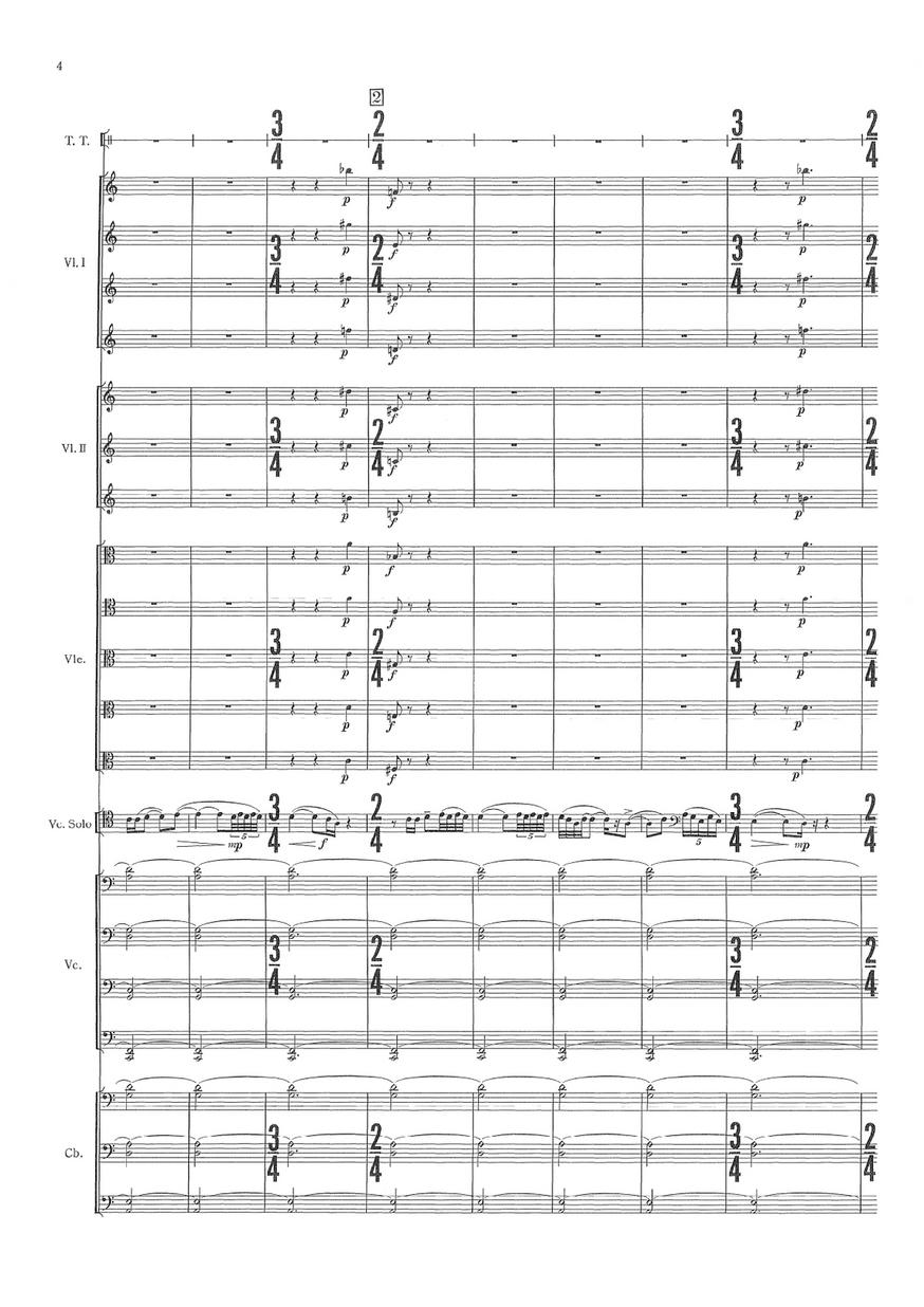 管弦楽のための木挽歌